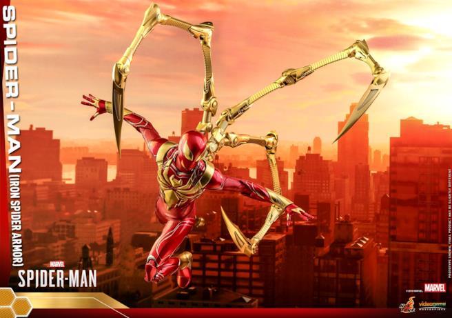 Iron Spider visto nel dettaglio