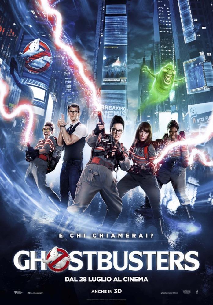 Poster di Ghostbusters