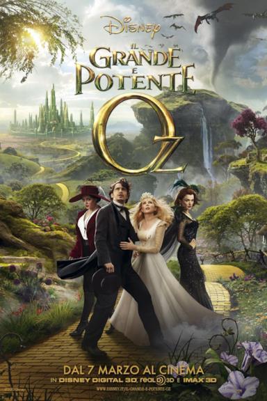 Poster Il grande e potente Oz