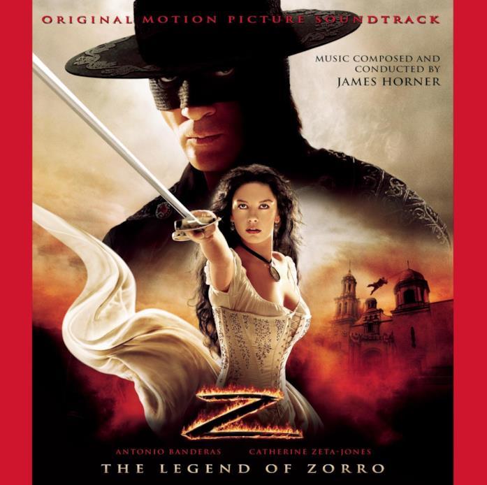 The legend of Zorro, la colonna sonora