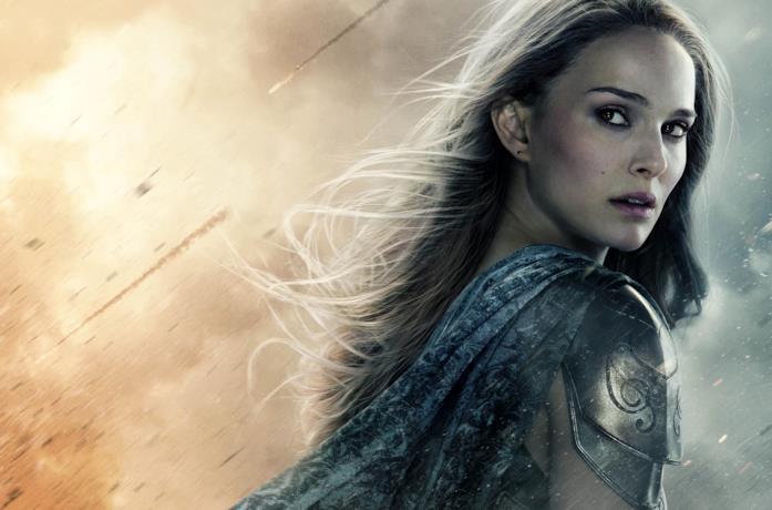 Natalie Portman è Jane Foster in una foto promozionale di Thor 2