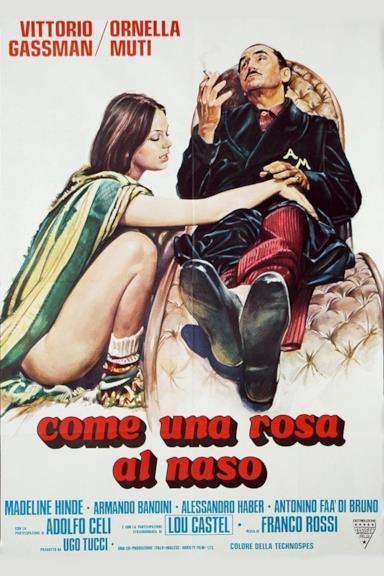 Poster Come una rosa al naso