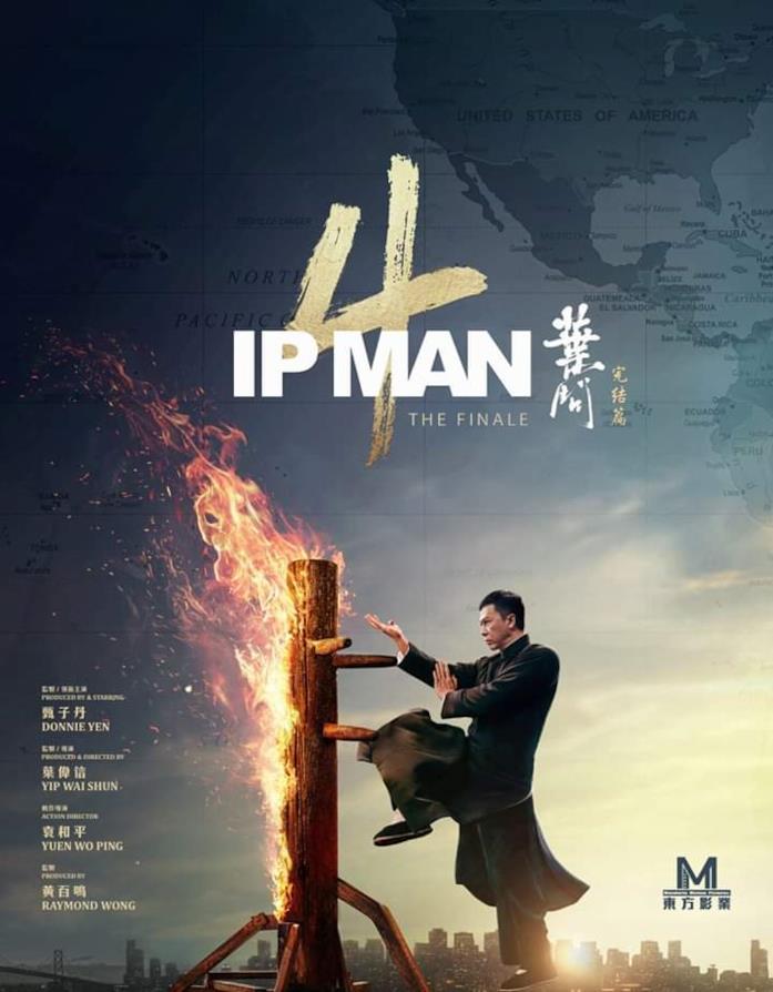 Il poster ufficiale di Ip Man 4