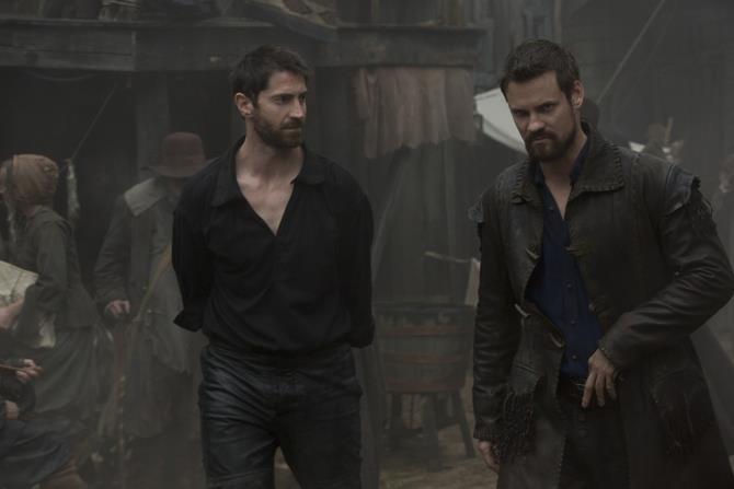 John Alden e Isaac Walton sono interpretati da Shane West e Iddo Goldberg