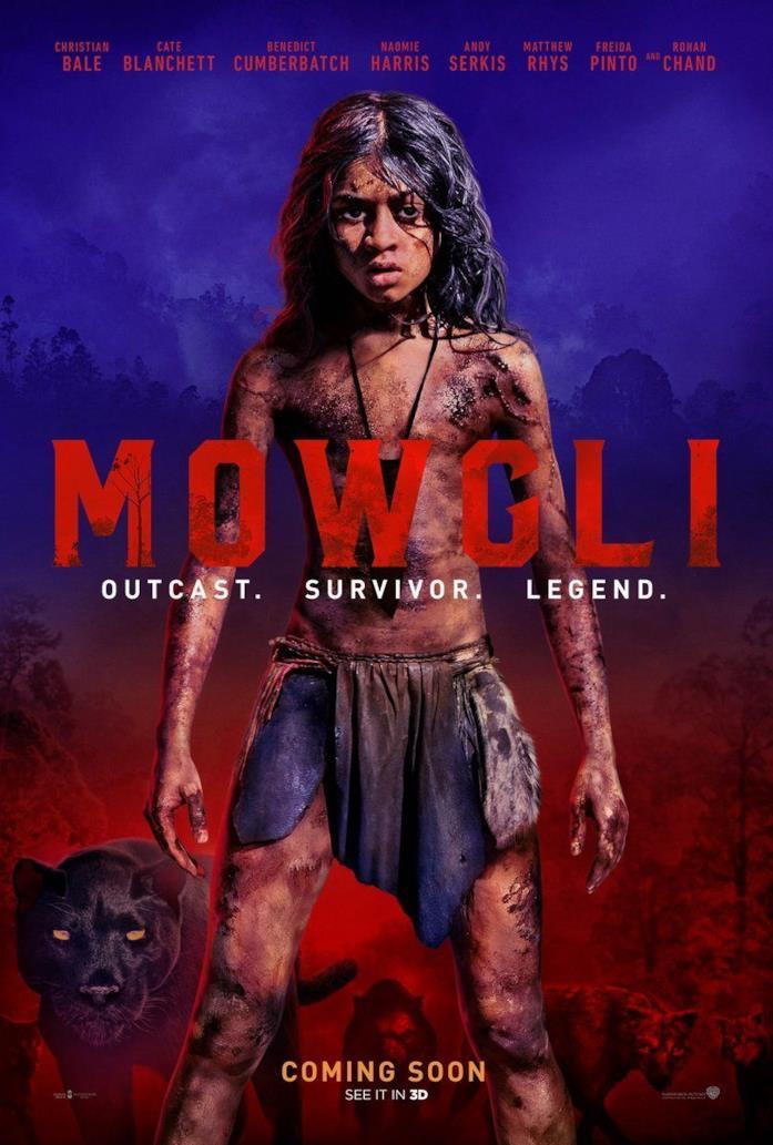 Poster italiano ufficiale di Mowgli - Il figlio della giungla