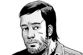 Dante nel fumetto di The Walking Dead