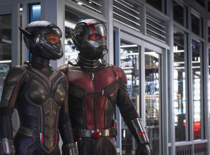 Ant-Man e Wasp nel secondo film Marvel dedicato alla coppia