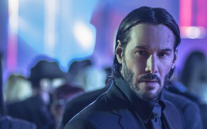 Keanu Reeves nella saga di John Wick