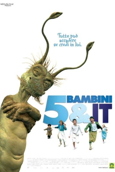 Poster 5 bambini & It