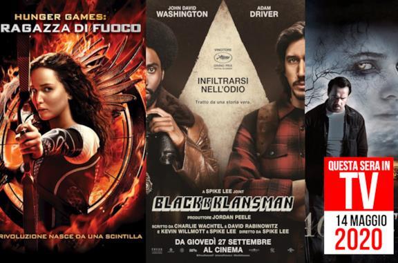 Film in TV stasera: 14 maggio con Hunger Games e Contagious