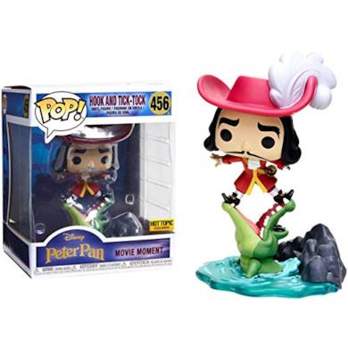Funko Pop Hook Tick-Tock 456 Peter Pan Figure 15 CM Movie Moments Disney #1