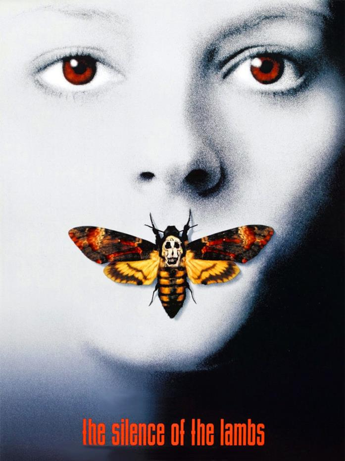 Il poster de Il silenzio degli innocenti