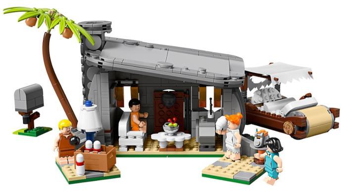 Il set LEGO dei Flintstones: l'interno della casa