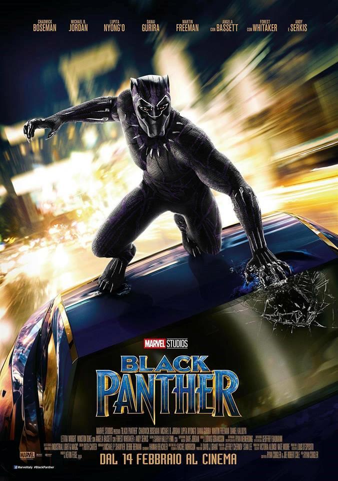 Il nuovo poster ufficiale di Black Panther