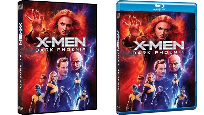 X-Men: Dark Phoenix nei formati DVD e Blu-ray