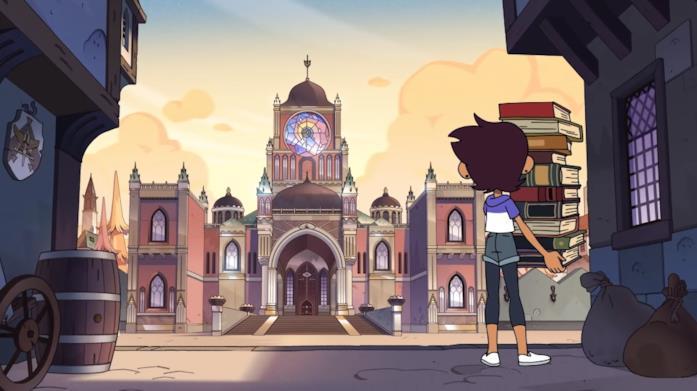 The Owl House il mondo della serie animata Disney