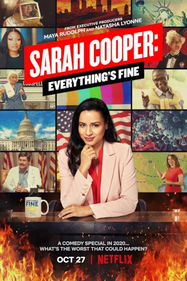 Poster Sarah Cooper: Everything's Fine