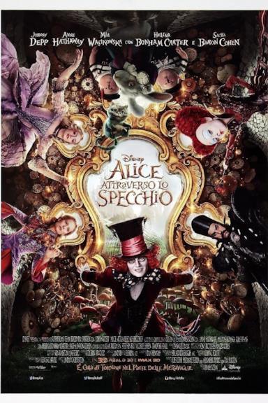 Poster Alice attraverso lo specchio