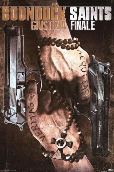 Poster The Boondock Saints - Giustizia finale