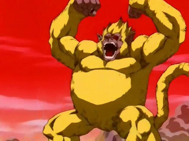 Goku GT oozaru golden