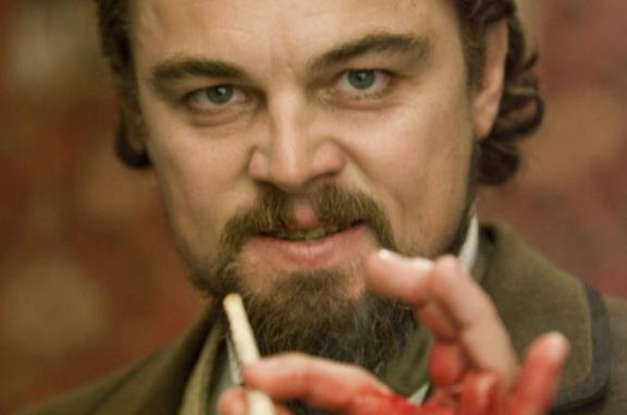 Django Unchained: la scena in cui DiCaprio si ferì davvero alla mano