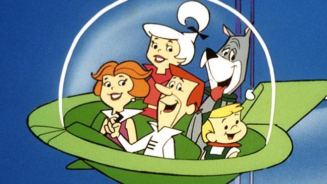 La famiglia Jetson nella navicella spaziale