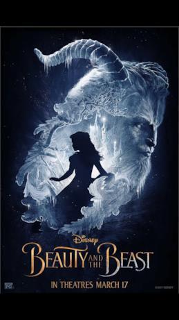 Il poster del film La Bella e la Bestia