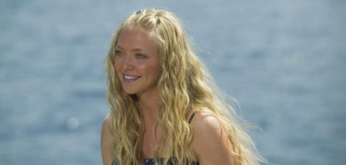 Amanda Seyfried nel film Mamma Mia! del 2008