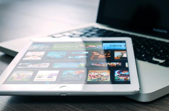 Netflix su un tablet