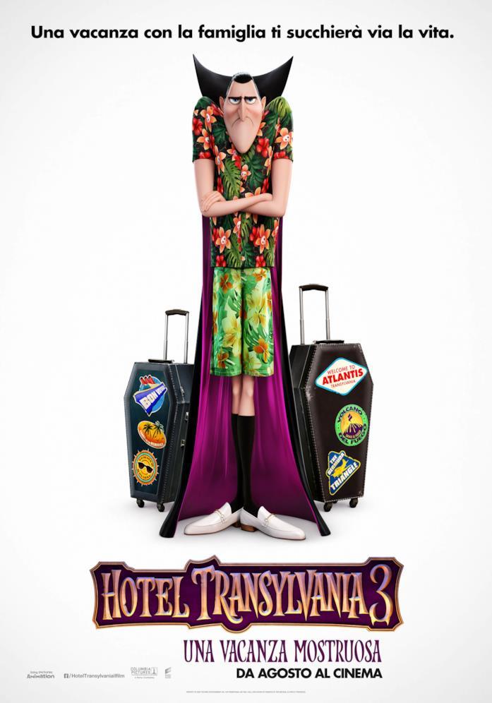 La locandina di Hotel Transylvania 3: Una Vacanza Mostruosa