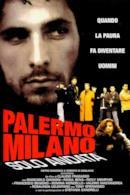 Poster Palermo-Milano solo andata