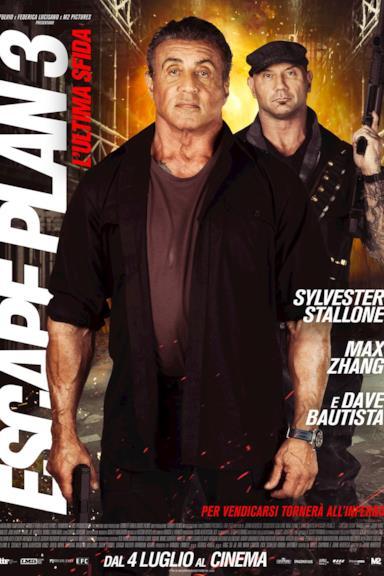 Poster Escape Plan 3 - L'ultima sfida