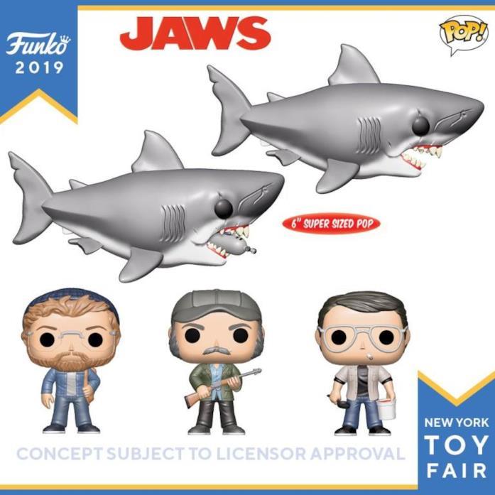 giocattoli in vinile Lo squalo