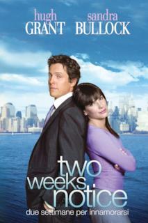 Poster Two weeks notice - Due settimane per innamorarsi