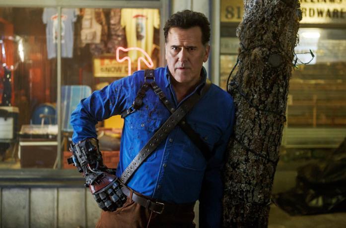 Bruce Campbell nella terza stagione di Ash vs Evil Dead