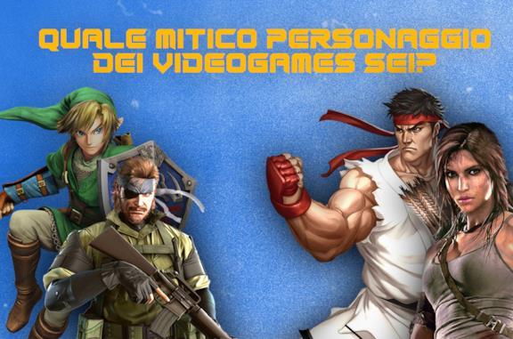 Quale mitico personaggio dei videogames sei?