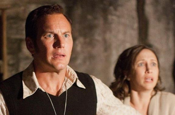 Una scena del film The Conjuring