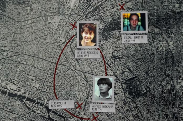 Una scena del documentario Le donne e l'assassino