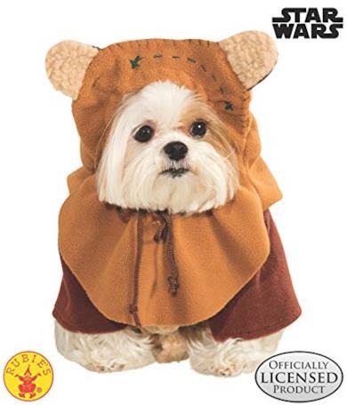 Star Wars Ewok Dog Costume - Pet Accessory PET X LARGE