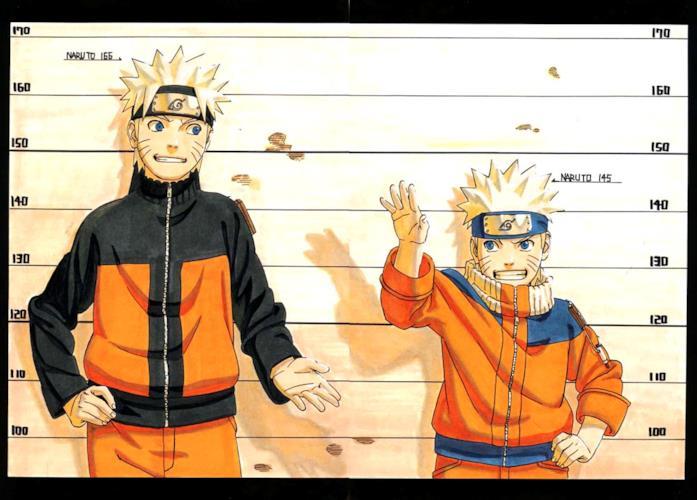 Naruto versioni