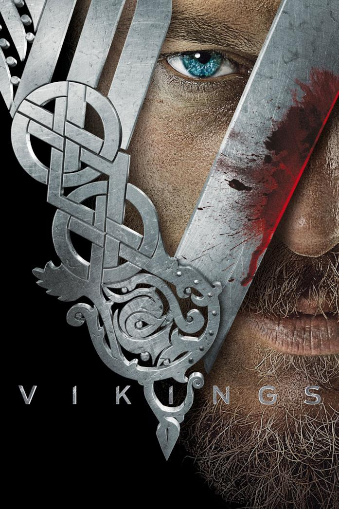 Travis Fimmel nel poster di Vikings