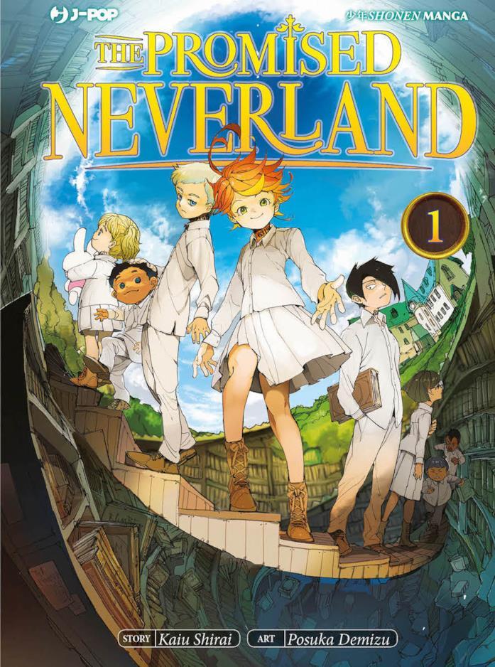 J-Pop Manga The Promised Neverland