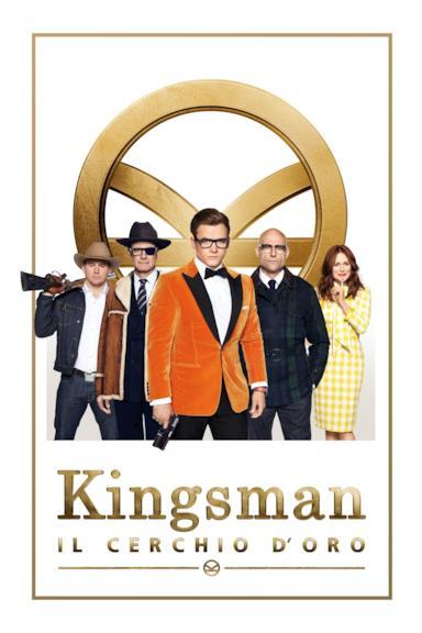 Poster Kingsman: Il cerchio d'oro