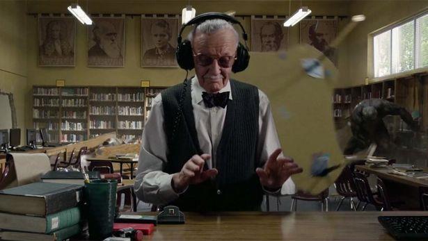 La scena del cameo di Stan Lee in The Amazing Spider-Man (2012)