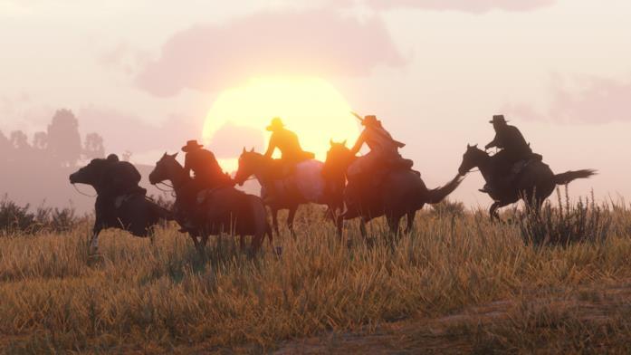Cavalli al galoppo nella Beta di Red Dead Online