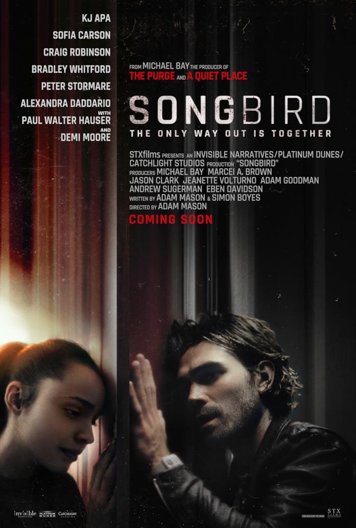 Songbird, il trailer del film sul COVID prodotto da Michael Bay