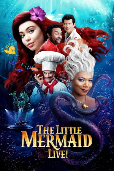 Poster The Little Mermaid Live!
