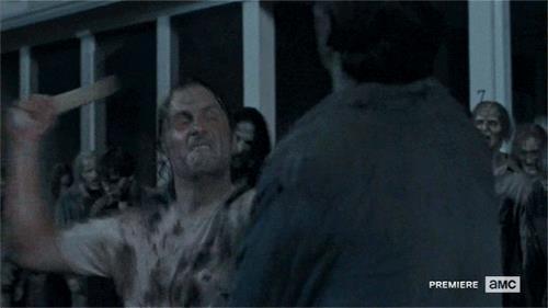 Un meme da The Walking Dead