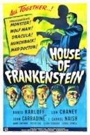 Poster La casa di Frankenstein