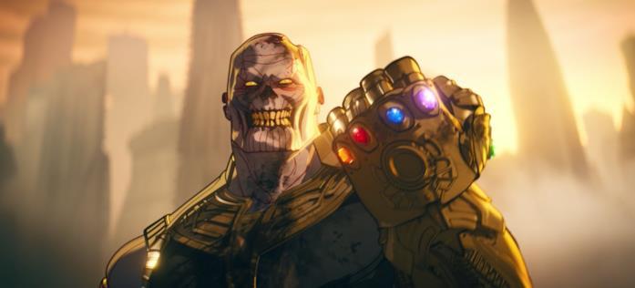 Thanos zombie